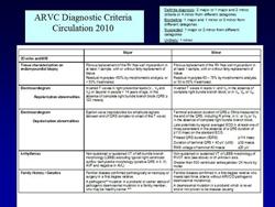 Figure 1. ARVC Diagnostic Criteria 2010.